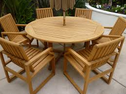 Teak Outdoor Dining Table And Chairs 30 New Outdoor Dining Table And Chairs Pics 30 Photos Home