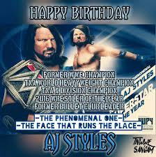 Aj Styles Memes - aj styles s birthday celebration happybday to