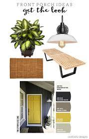 Theeffortlesschic Exterior Color Yellow Front Door Ideas U2013 Craftivity Designs