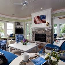 Low Country Style by Beadboard Fireplace Living Room Beach Style With Lowcountry