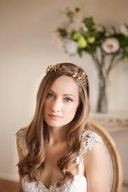gold leaf headband delicate leaf tiara gold tiara leaf halo gold leaf headpiece