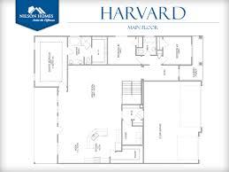 harvard floor plan rambler new home design nilson homes