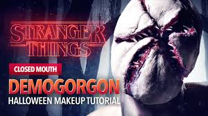 stranger things monster tutorial closed mouth youtube