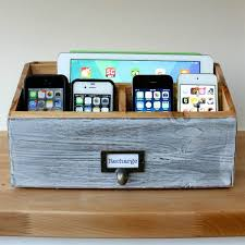 diy wood charging station remodelaholic get rid of cord clutter with these 25 diy charging