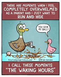 Overwhelmed Memes - fowl language comics completely overwhelmed life of mom