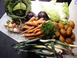 cuisiner les l馮umes d hiver panier de légumes d hiver cuisiner le panier de l amap choux frisé
