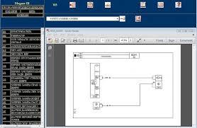 электрическая схема visu renault wiring diagrams для renault