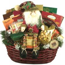 themed gift baskets deck the halls large christmas gift basket