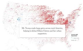 Nytimes Election Map by Digital Cartography 140 Visualoop