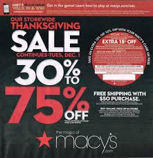 macys thanksgiving 2018 macys thanksgiving deals ads sales