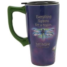 Travel Mug Just Believe