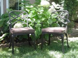 Black Cast Aluminum Patio Furniture Black Bronze Cast Aluminum Outdoor Patio Furniture Chair Set