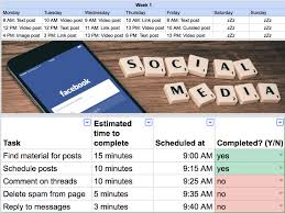 free facebook marketing strategy template fb marketing strategy plan