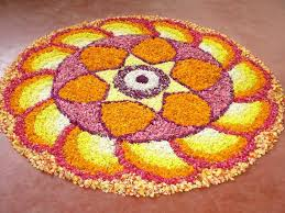 ugadi decorations at home flower rangoli designs pookalam flower rangoli for onam and diwali