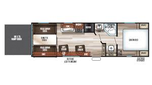 forest river grey wolf 26rr travel trailer toy hauler sales