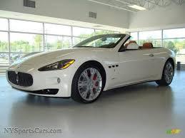 2011 Maserati Granturismo Convertible Grancabrio In Bianco