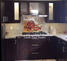 kitchen tile murals tile backsplashes mexican home decor peppers kitchen backsplash tiles murals