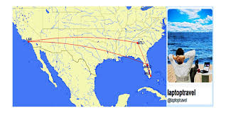 Porter Airlines Route Map by Mia Lax 247 Same Day Delta Airlines Mileage Run Mileage Run