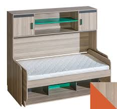 transformer bed with desk and shelving unit ultimo products