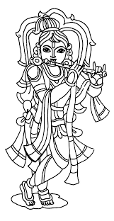 drawing lord krishna coloring pages download u0026 print