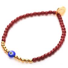 evil eye bead bracelet images Mini evil eye charm glass bead bracelet dana levy ltd jpg