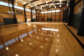 Gym Floor Refinishing Supplies by Snowmass Rec Center Stained Gym Floor 7 All City Floors Company
