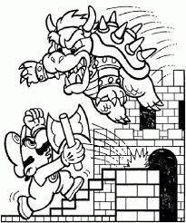 super mario coloring pages to encourage to color page cool