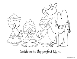 wise men coloring pages getcoloringpages com