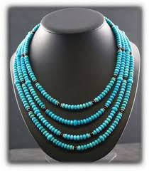 blue fashion necklace images Silver turquoise jewelry jpg