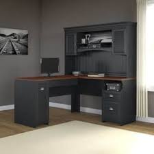 Office Desk With Hutch L Shaped L Shaped Desks Home Office Furniture For Less Overstock