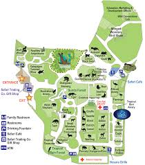 National Zoo Map Fort Worth Zoo Map Fort Worth Maps Pinterest Fort Worth