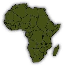 Africa Map Blank Pdf by Africa Clipart