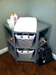 Changing Table Basket White Changing Table With Baskets Cherry Changing Table Dresser
