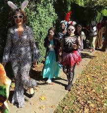 Halloween Costumes Disco Photos Students Show Halloween Costumes East Hampton Star