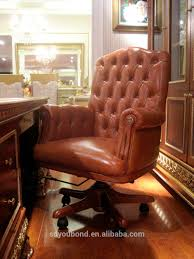 Wooden Executive Office Chairs 0062 European Style Luxury Wooden Executive Office Desk Classic