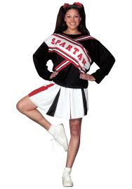 party city halloween costumes for plus size spartan cheerleader costume