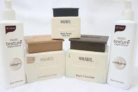 Scrub Makarizo makarizo texture experience in black chocolate shoo conditioner