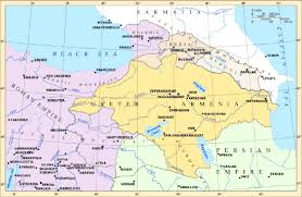 Map Of Armenia Face Music Projects Armenia The Country And History Text In