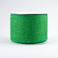 emerald green ribbon 2 5 royal canvas ribbon emerald green 10 yards rg127906
