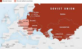 former soviet union map the soviet union tests the bombs the of hungary