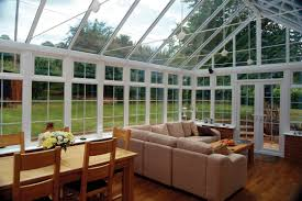 mesmerizig picture for sun room desaign with large glass window