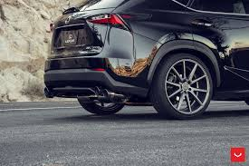 vossen wheels lexus nx vossen vps 301 custom wheels on black lexus nx200t u2014 carid com gallery