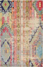 Over Dyed Distressed Rugs Amazon Com Modern Overdyed Distressed Rug Multi 4 U0027 11 X 8 U0027 Ft
