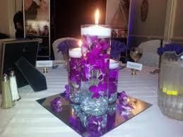 purple wedding centerpieces simple purple candle wedding centerpieces with glasseswedwebtalks