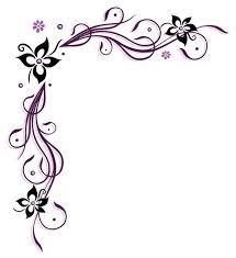 pruple floral ornaments vectors 02 vector floral vector