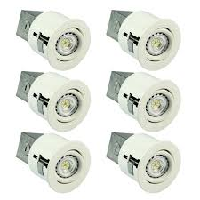 3 inch recessed lighting sgl 3 inch led recessed lighting kit 6 x gu10 6w led bulbs included