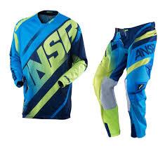 skullcandy motocross gear answer new 2016 mx alpha ansr jersey pants navy cyan blue