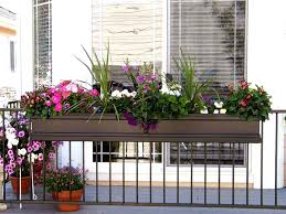balcony railing planter ideas u2014 railing stairs and kitchen design