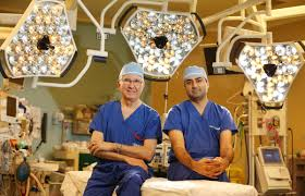 heart surgeons though different ages share the same commitment