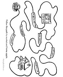 mazes kids printable free